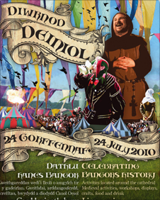 St. Deiniol Day Poster Bangor