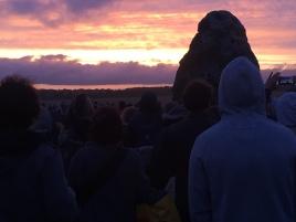 Sunrise at Stonehenge 2015